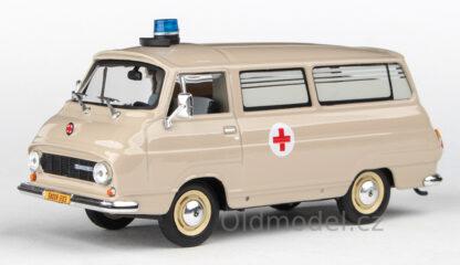 Model autíčka Š 1203 Sanitka / Převozka