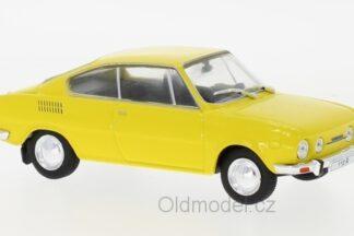 Modely autíček Škoda 110R Coupe (1970)
