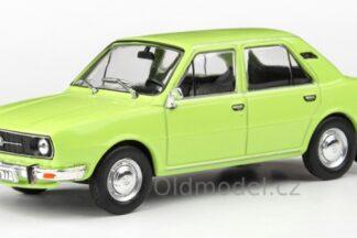 Model autíčka Škoda 105L (1977) 1:43 - Zelená Lipová