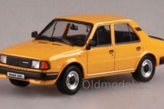 Model autíčka Škoda 120L (1982) 1:43 - Zelená