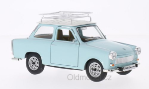 Model autíčka Trabant Deluxe s nosičem