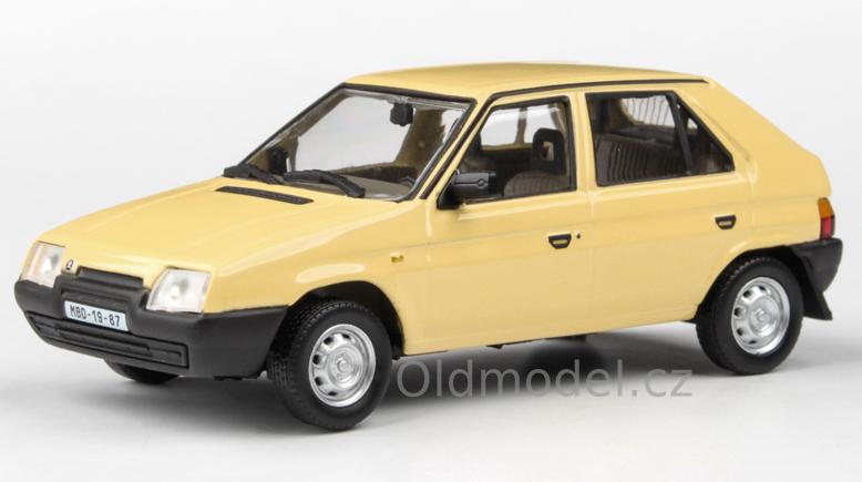 Model autíčka Favorit