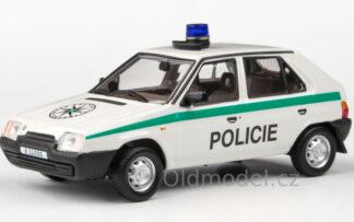 Model autíčka Favorit Policie