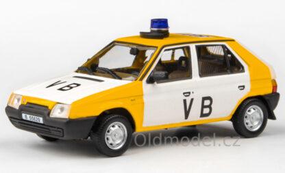 Model autíčka Favorit Veřejná Bezpečnost
