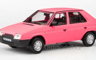 Modely autíček Škoda Favorit 136L (1987) v měřítku 1:43