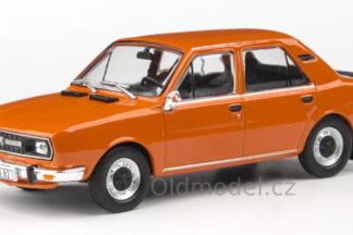 Model autíčka Škoda 120L (1982) 1:43
