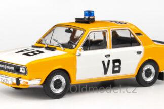 Model autíčka Škoda 120L (1982) 1:43 - Veřejná Bezpečnost