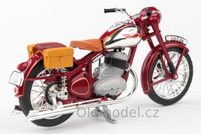 JAWA 350 Pérák - 1950 s brašnama