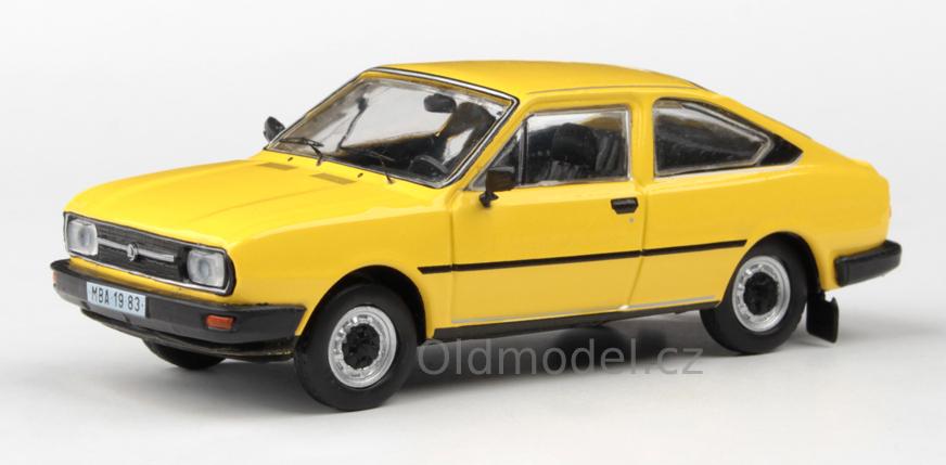 Model autíčka Škoda Garde 1982