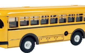 Autobus s pohonem žlutý