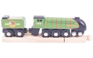 Bigjigs Rail Dřevěná replika lokomotiva Eisenhower