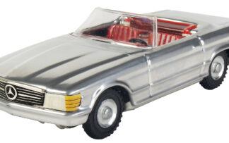 Mercedes cabrio Stříbrná