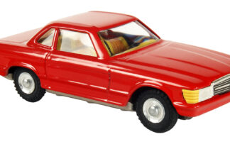 Mercedes cupe Červená