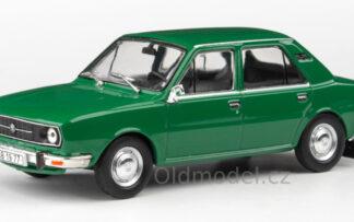Model autíčka Škoda 105L (1977) 1:43 - Zelená Ostrá