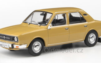 Model autíčka Škoda 105L (1977) 1:43 - Zlatohnědá