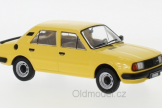 Škoda 120L (1983) 1:43 - dunkelgelb , Výrobce IXO
