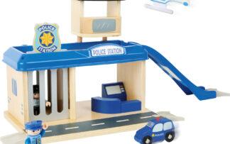 Small Foot Policejní stanice s příslušenstvím