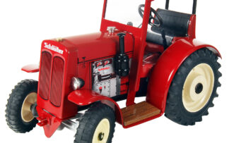 Traktor SCHLÜTER DS 25 – se střechou Červená