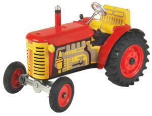 Traktor Zetor Kovový model autíčka