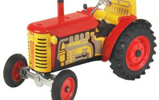 Traktor ZETOR SOLO – plastové disky kol Červená