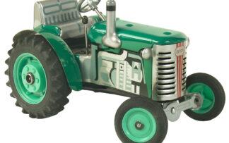 Traktor ZETOR SOLO – plastové disky kol Zelená