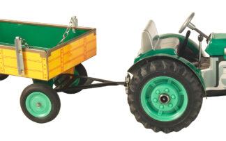 Traktor ZETOR  svalníkem – plastové disky kol Zelená