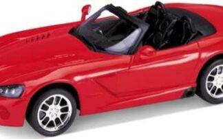Welly - 2003 Dodge Viper SRT-10 1:24 červený