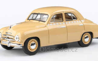 Model autíčka Škoda 1201 (1956) 1:43 - Sedan - Taxi