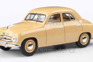 Model autíčka Škoda 1201 (1956) 1:43 - Sedan - Taxi