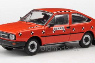 Model autíčka Škoda Garde Crash test v měřítku 1:43