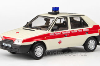 Model aitíčka Škoda Favorit 136L (1988) 1:43 - OÚNZ Praha 1