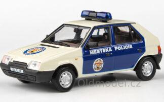 Škoda Favorit 136L (1988) 1:43 - Městská Policie Praha