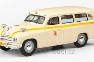 Škoda 1201 (1956) 1:43 - Sanitka - Záchranka Brno