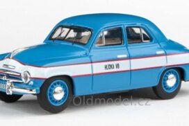 Model autíčka Škoda 1201 (1956) 1:43 – Hlídka VB
