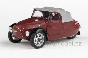 Model tříkolky Velorex 16/350 (1966) 1:43