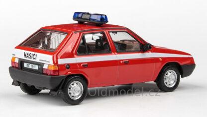 Model autíčka Škoda Favorit 136L hasiči
