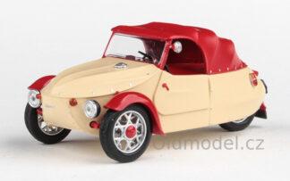 Model autíčka Velolorex