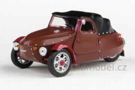 Model Velorex 16/350 (1966) 1:43 - Béžová/Černá/Červená