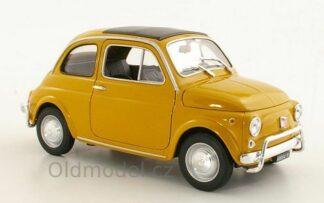 Model autíčka Fiat 500, (1957) v měřítku 1:18