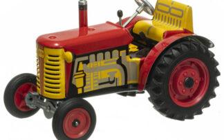 Traktor ZETOR SOLO červený – plastové disky kol