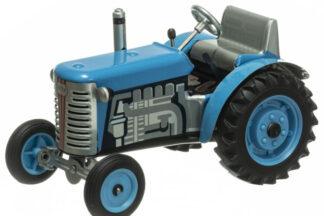 Traktor ZETOR SOLO modrý – plastové disky kol