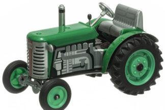 Traktor ZETOR SOLO zelený – plastové disky kol