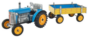Traktor ZETOR svalníkem - modrý