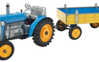 Traktor ZETOR svalníkem - modrý – kovové disky kol