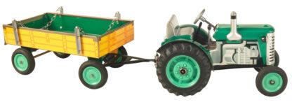 Traktor ZETOR  svalníkem zelený– plastové disky kol