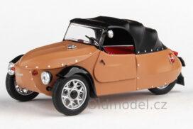 Model Velorex 16/350 (1966) 1:43 - Béžová/Černá/Černá