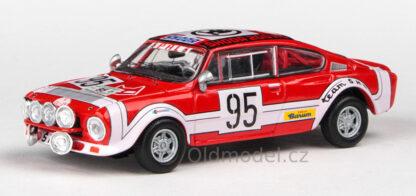 Škoda 200RS (1974) 1:43 - Rallye Jeseníky 1975 #95 Šedivý - Janeček