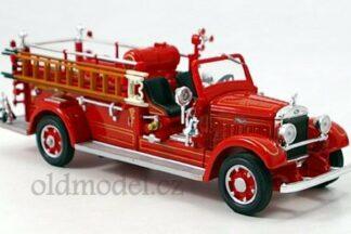 Model autíčka - Retro hasičské auto , Feuerwehr , měřítko 1:43