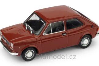 Model autíčka Fiat 127 , (1.Serie), 1972 v měřítku 1:43.
