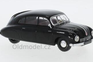 Model autíčka Tatra T600 Tatraplan v měřítku 1:43